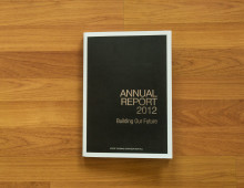 Print Design & Layout of STO Annual Report 2012