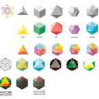 Vivcore Energy Solutions branding development sketches