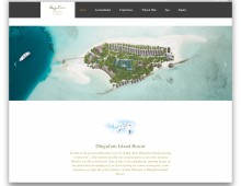 UX Design for Dhigufaru Island Resort Website